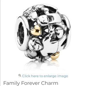 Pandora Family Forever charm